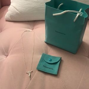 Tiffany's Sterling Cross Necklace